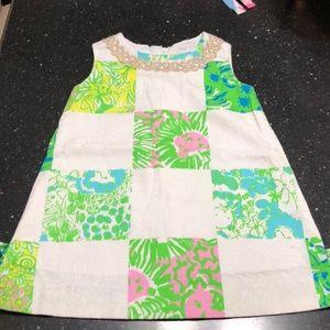 Sz 2T Lilly Pulitzer shift dress